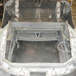 E Type S1 Roadster having new floors and sills