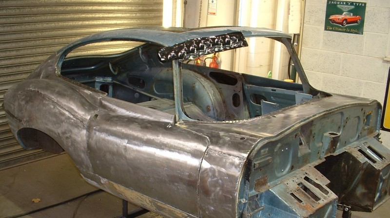 E Type Body Work Repairs Resprays Restoration Rebuilds And