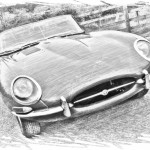 Very Early UK Supplied Flat Floor S1 Etype Roadster