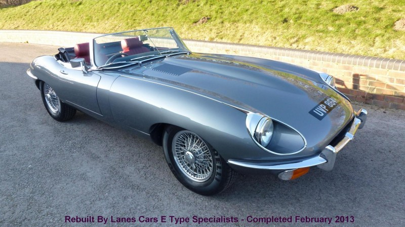 E Type S2 4.2 Roadster - SOLD