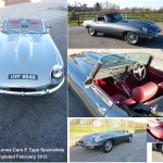 E Type S2 Roadster - Reg No- UVP 864H - 1_2