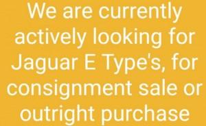 E Type Jaguar Wanted