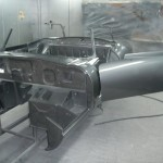 E Type S2 Being Finished in Gunmetal Grey