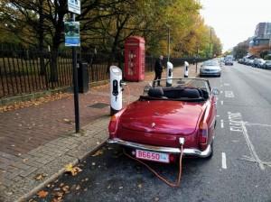 RBW LTD  EV -On Charge in Battersea London