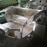 GP - Aluminium Rear Bodyshell