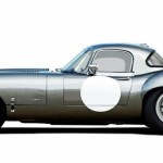 Lanes Cars Jaguar E Type Aluminium Lightweight Recreation - Opalescent Siver Grey