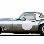 Lanes Cars Jaguar E Type Aluminium Lightweight Recreation - Opalescent Silver
