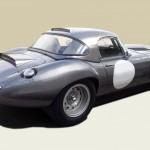 Lanes Cars Jaguar E Type Aluminium Lightweight Recreation - Opalescent Gun Metal