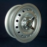 D Type Wheel with 3 Eared Spinner